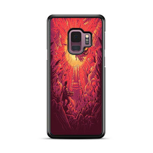 Akira Good For Health Bad For Education Dan Mumford Samsung Galaxy S9 Plus HÜLLE