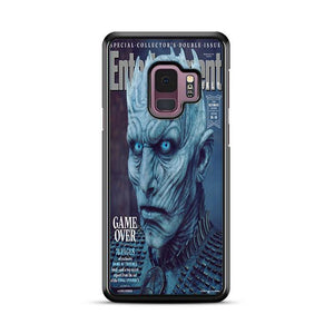 Game of Thrones Season 8 Entertainment Weekly Night King Samsung Galaxy S9 HÜLLE