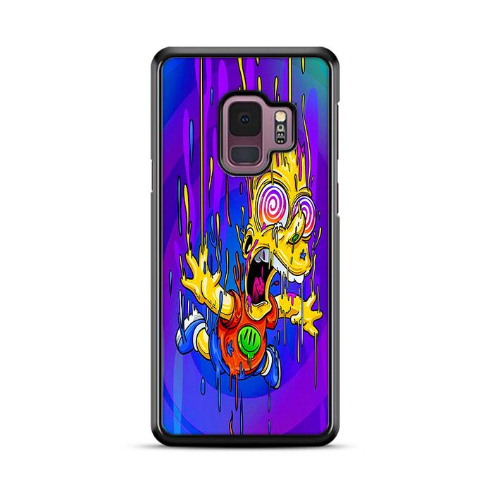 The Simpsons Bart Psychedelic Samsung Galaxy S9 HÜLLE