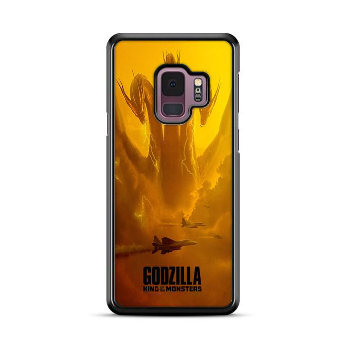 Godzilla King of The Monster King Ghidorah Samsung Galaxy S9 HÜLLE