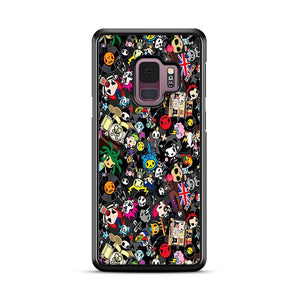 Tokidoki Sticker Collage Samsung Galaxy S9 HÜLLE
