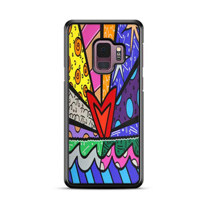 Art Britto Love Samsung Galaxy S9 HÜLLE
