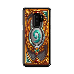 World of Warcraft Hearthstone Explore Heroic League Samsung Galaxy S9 Plus HÜLLE