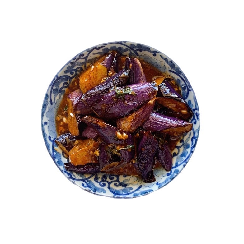 Frozen Three Cup Spice Eggplants | 冷凍三杯茄子