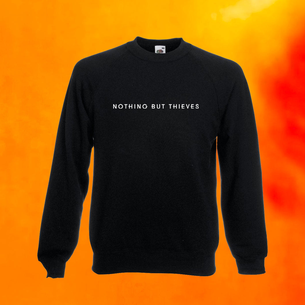 Text Logo Crewneck Sweatshirt