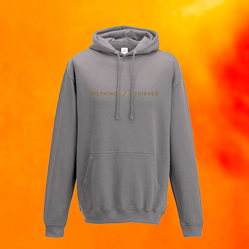 Rust Text Logo Sweatshirt
