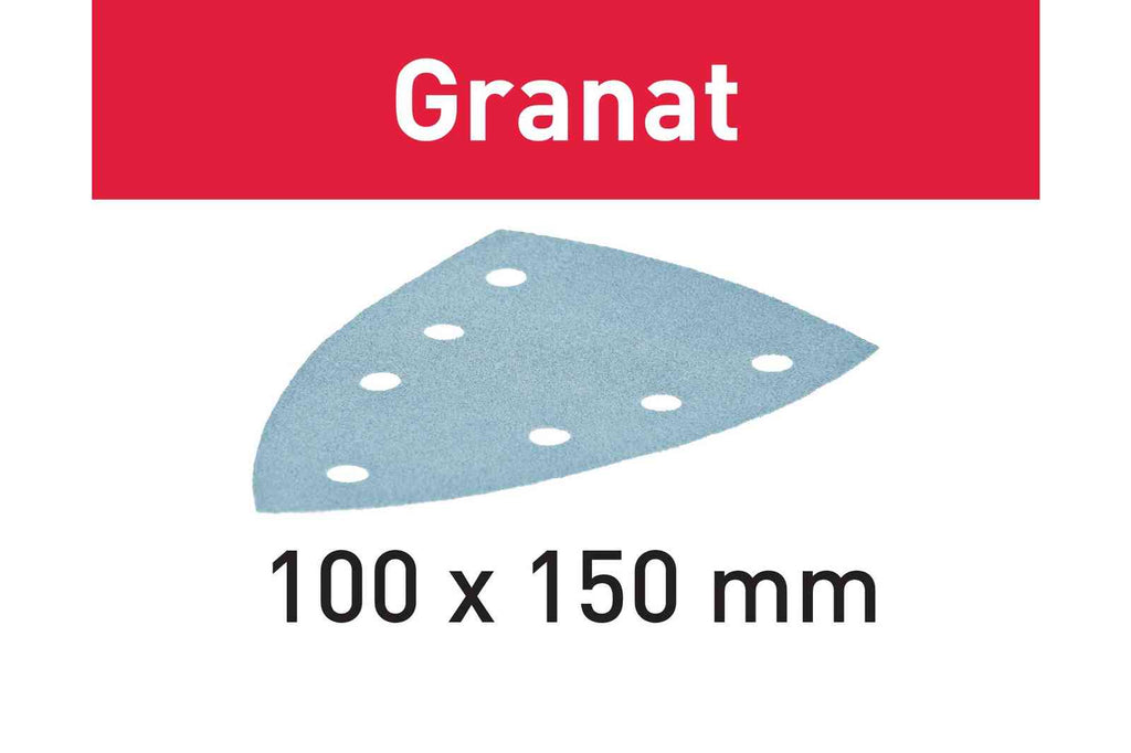 Sanding disc Granat STF DELTA/7 P320 GR/100 - 497143 For DTS 400, DTSC 400, DS 400