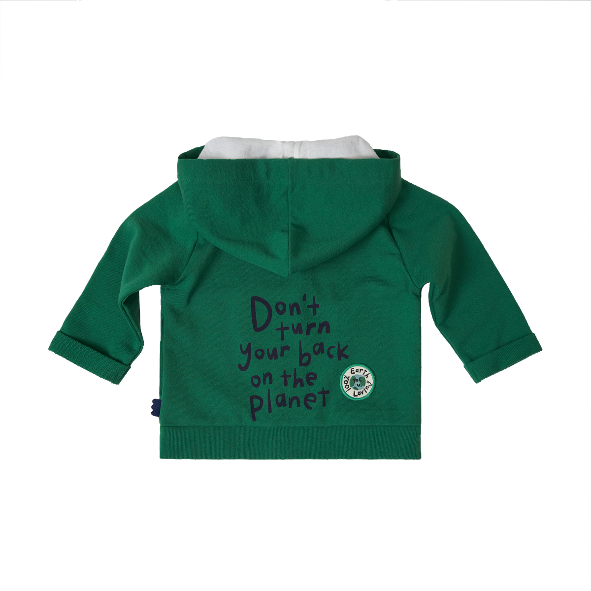 Don't Turn Your Back on the Planet Hoodie