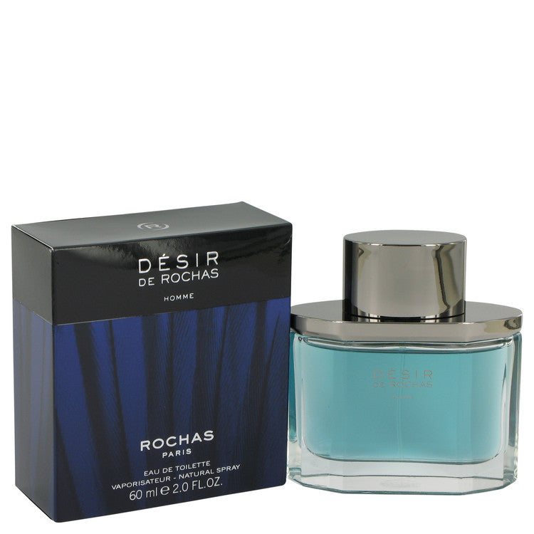 Desir De Rochas by Rochas Eau De Toilette Spray 2 oz for Men
