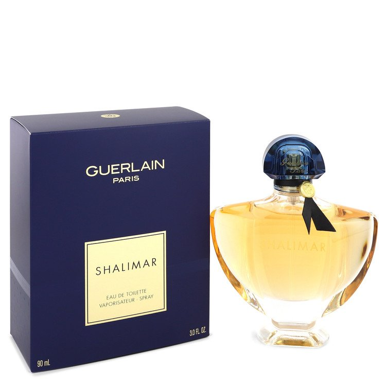 SHALIMAR by Guerlain Eau De Toilette Spray 3 oz for Women