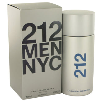 212 by Carolina Herrera Eau De Toilette Spray 6.8 oz for Men