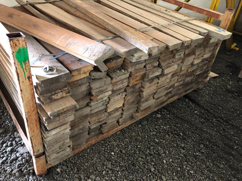Wood - Oak - salvaged wooden planks