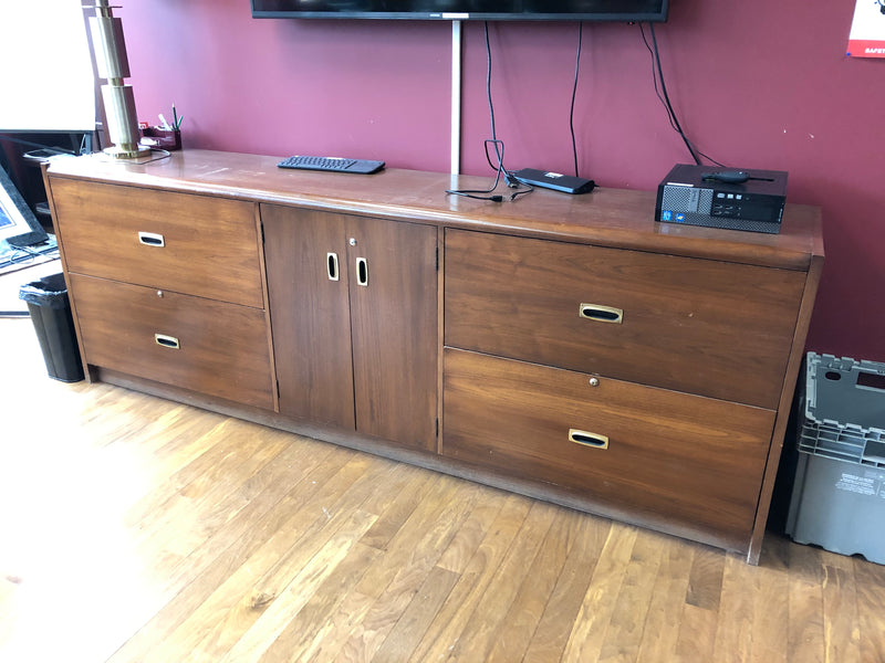Furniture - mid-century modern wooden credenza