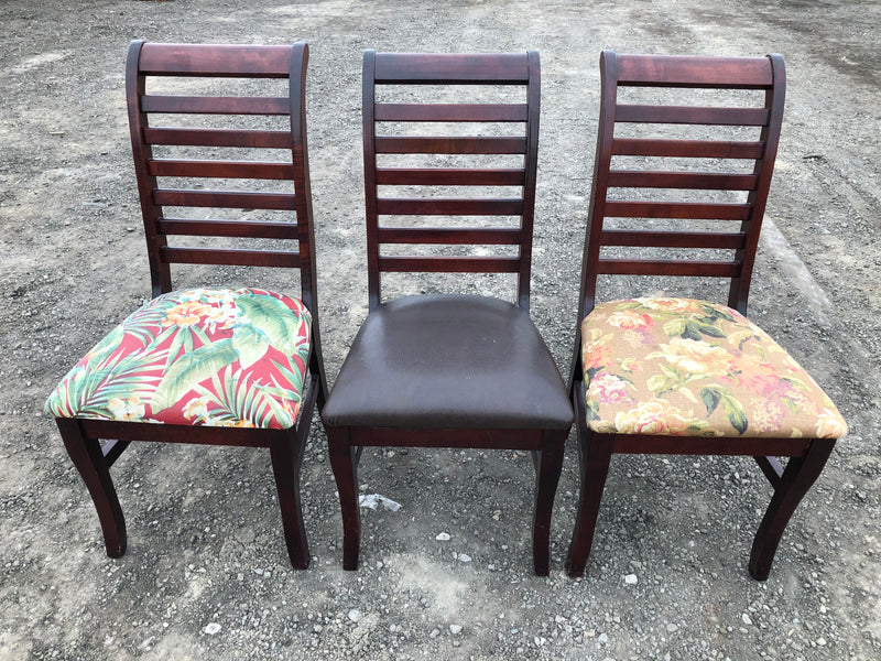 Furniture - slat-back dining chairs