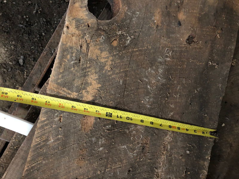 "Wood planks - 17""wide, reclaimed"