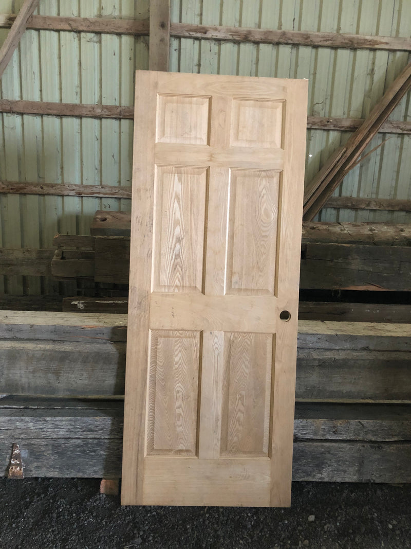 Doors - solid core (natural OAK, unfinished)