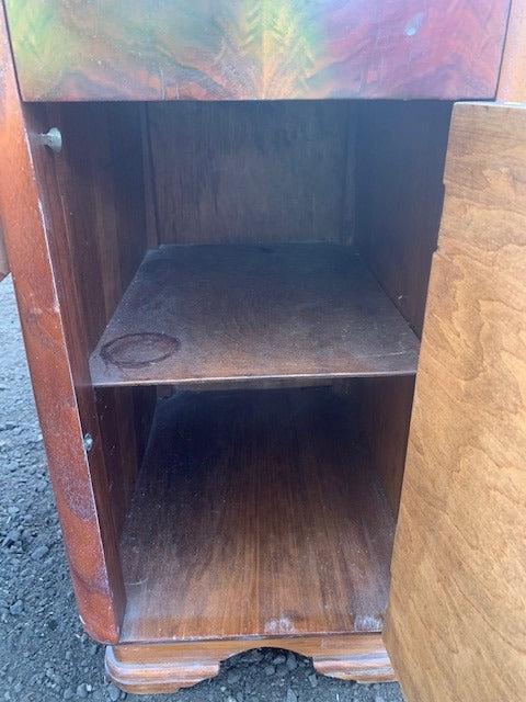 Vintage 1938 Vanity makeup table with bench