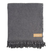 Stone Washed Throw // Black Label XXL