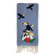 Explore The Unseen Hammam Towel // The Toucans