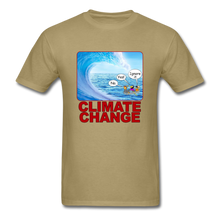 Load image into Gallery viewer, Climate Change Wave - khaki