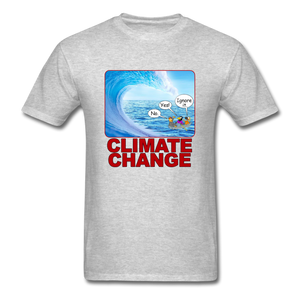 Climate Change Wave - heather gray