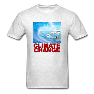 Climate Change Wave - light heather gray