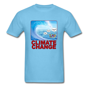 Climate Change Wave - aquatic blue