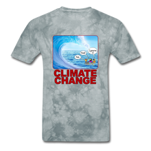 Load image into Gallery viewer, Climate Change Wave - grey tie dye