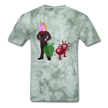 Load image into Gallery viewer, It's Not About Larry Mumba Gets Larry - military green tie dye