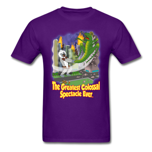 King Cotton Top Lets Fly - purple