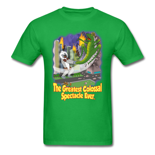 King Cotton Top Lets Fly - bright green