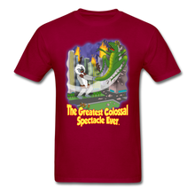 Load image into Gallery viewer, King Cotton Top Lets Fly - dark red