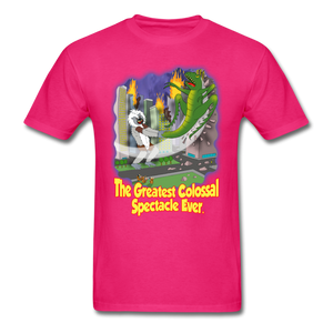 King Cotton Top Lets Fly - fuchsia