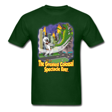 Load image into Gallery viewer, King Cotton Top Lets Fly - forest green