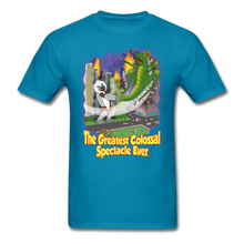 Load image into Gallery viewer, King Cotton Top Lets Fly - turquoise