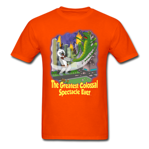 King Cotton Top Lets Fly - orange