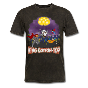 King Cotton Top To The Rescue - mineral black