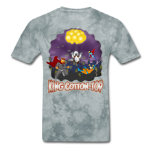 Load image into Gallery viewer, King Cotton Top To The Rescue - grey tie dye