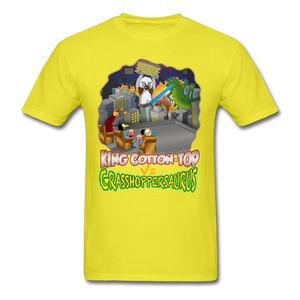 King Cotton Top vs Grasshoppersaurus - yellow