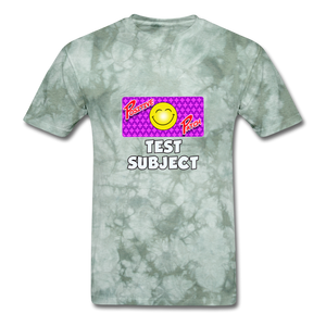Positive Patch Test Subject - military green tie dye