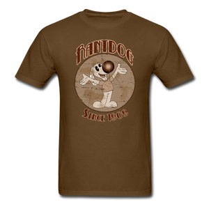 Retro Rantdog Since 1909 Sepia - brown