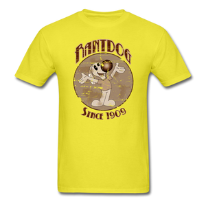 Retro Rantdog Since 1909 Sepia - yellow