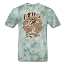 Load image into Gallery viewer, Retro Rantdog Since 1909 Sepia - military green tie dye