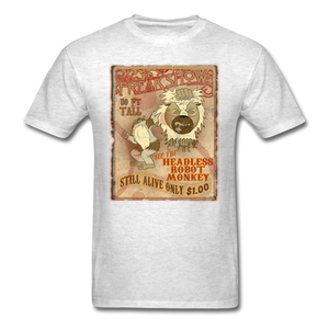 Retro Freakshow Poster - light heather gray