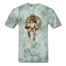 Load image into Gallery viewer, Retro Robot & Rantdog - military green tie dye