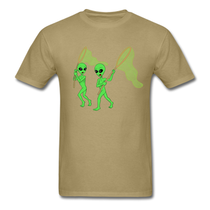 Space Aliens Hunting - khaki
