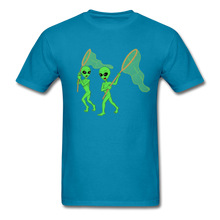 Load image into Gallery viewer, Space Aliens Hunting - turquoise