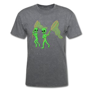 Space Aliens Hunting - mineral charcoal gray