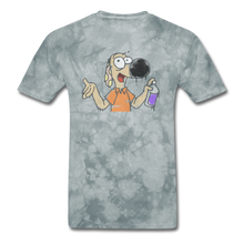Load image into Gallery viewer, Grafiti Rantdog - grey tie dye