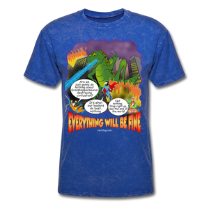 Grasshoppersaurus Everything Will Be Fine Text - mineral royal